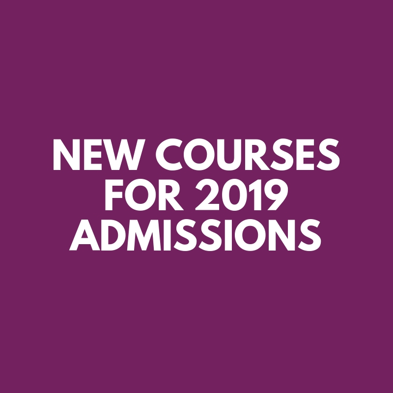 Courses for 2019